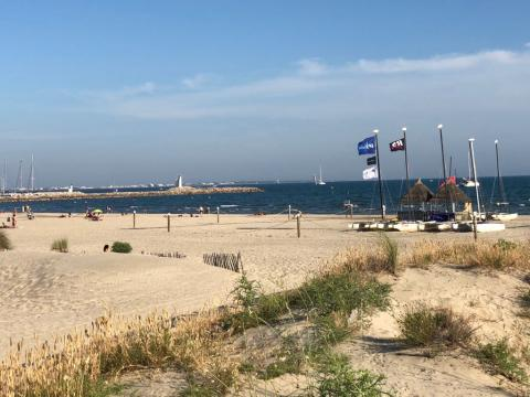 "Playa de ""La Grande Motte"""